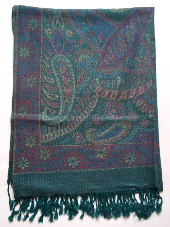 Turkis pashmina tørklæde